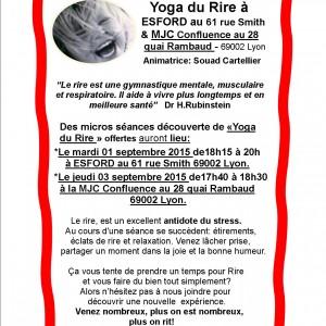 Yoga du Rire S. decouv à Esford & MJC