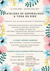 Ateliers 2016-2017 Sophrologie-Yoga-du-Rire